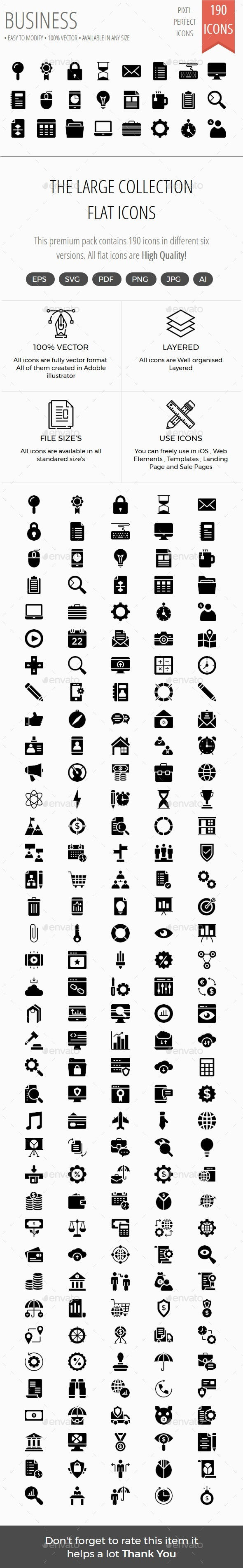 Business Material icons - Business Icons