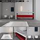 Bathroom furniture set Panta Rel 3 - 3DOcean Item for Sale