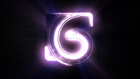 Dark Light Logo Reveal