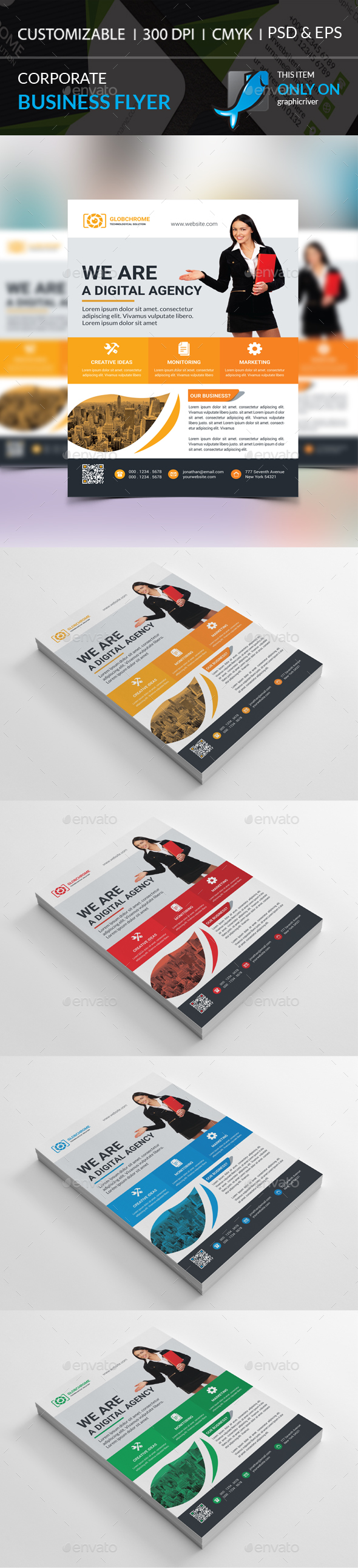 Corporate Flyer - Corporate Brochures