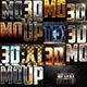 40 Bundle 3D Text Styles W-A - GraphicRiver Item for Sale
