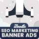 Seo, Social Media, Digital Marketing Banners Ad - GraphicRiver Item for Sale