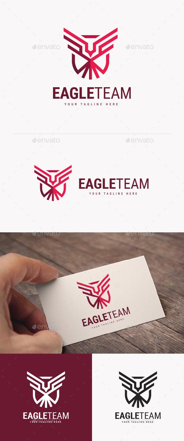 Eagle Team Logo - Animals Logo Templates