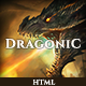Dragonic: The Ultimate One-Page Premium Gaming Template Nulled