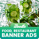 Food & Restaurant Banners Ad - GraphicRiver Item for Sale