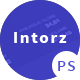 Introz - Training,Coaching Business PSD Template Nulled