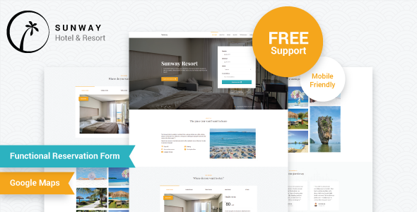 Sunway - Hotel & Resort Template