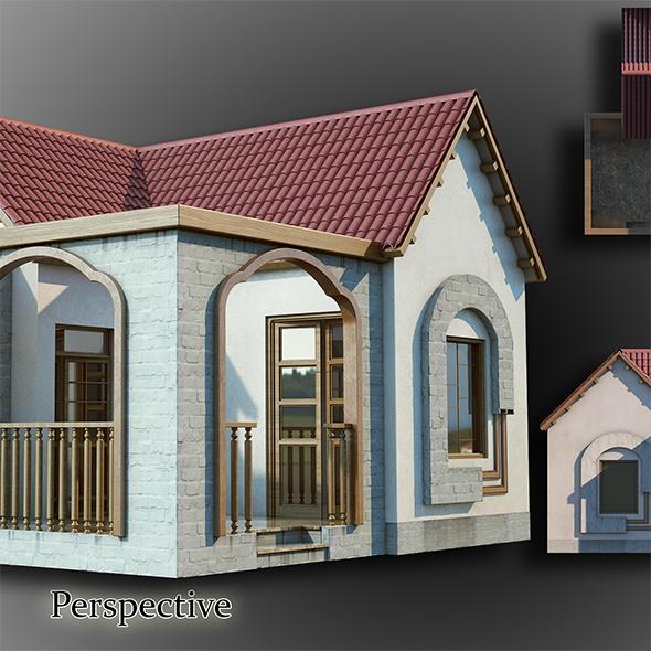 3DOcean Bungalow 20224591
