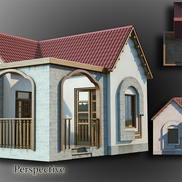Bungalow - 3DOcean Item for Sale