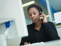 woman working in call center - PhotoDune Item for Sale