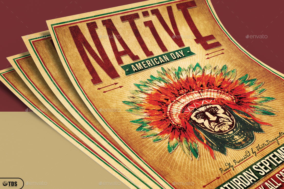 Native american day flyer template by lou606 graphicriver 01 native american day flyer templateg 02 native american day flyer templateg toneelgroepblik Image collections