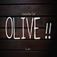 olive hand-letter