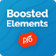 Boosted Elements | WordPress Page Builder Add-on for Elementor - CodeCanyon Item for Sale