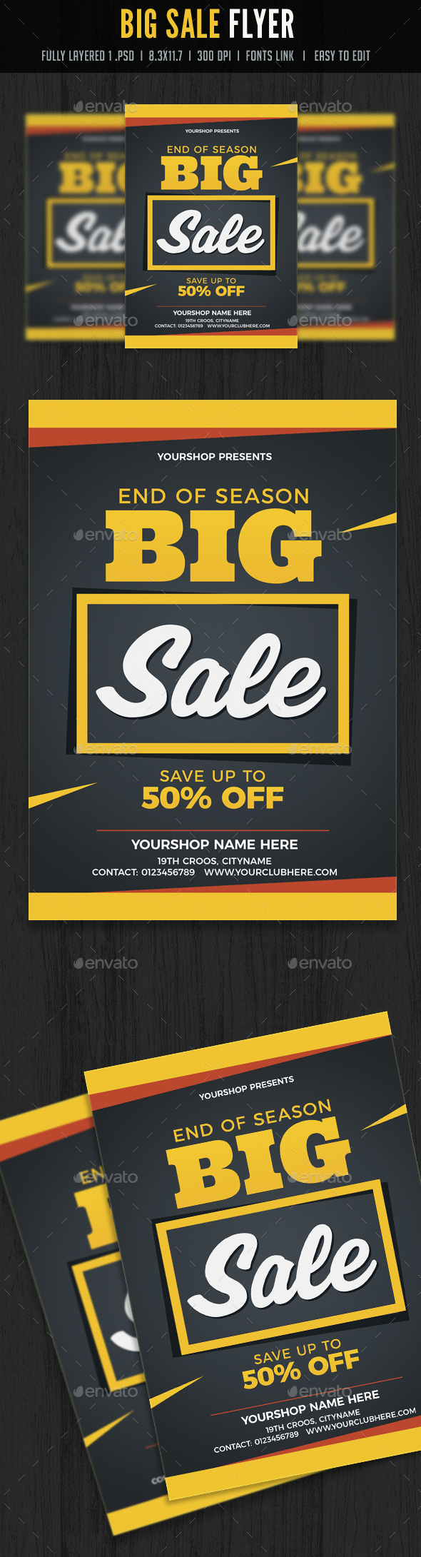 Big Sale Flyer / Poster