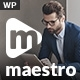 Maestro Business - Business WordPress - ThemeForest Item for Sale