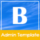 Bistec - Simple and Optimal Admin Template - ThemeForest Item for Sale