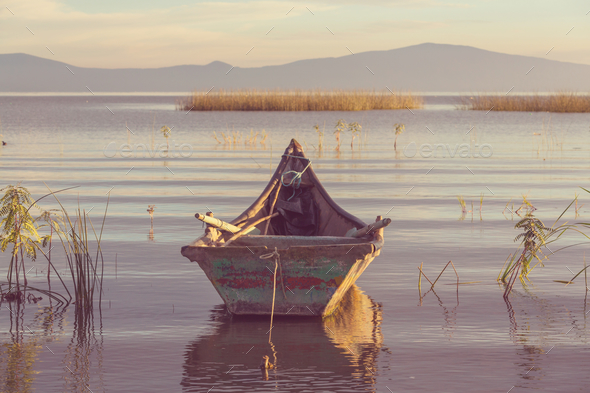 Boat in Mexico - Stock Photo - Images