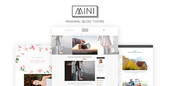 Mini Blog - Minimal Blog Theme, Blog WP