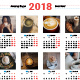 Calendar Poster 2018 - GraphicRiver Item for Sale