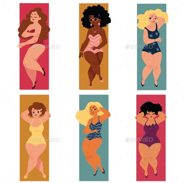 Plus Size Curvy Women