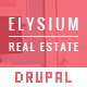 Elysium — Real Estate Drupal Theme