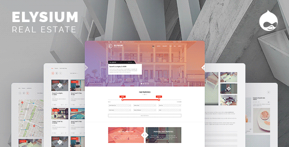 ThemeForest Elysium Real Estate Drupal Theme 20226769