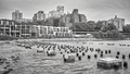 Brooklyn Heights waterfront, New York City, USA. - PhotoDune Item for Sale