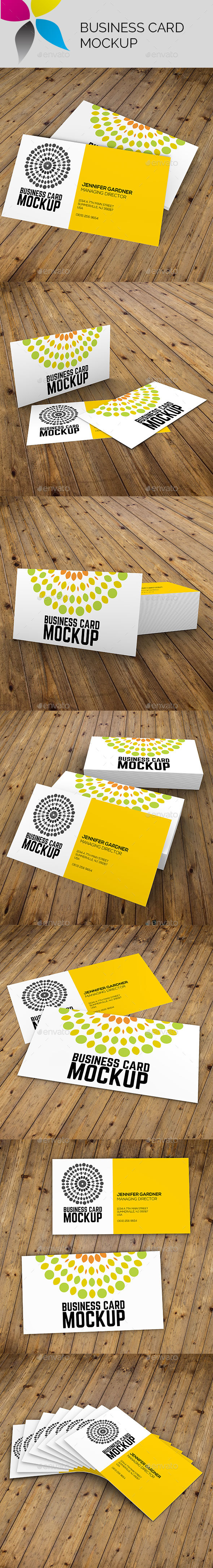 Business Card Mockup - Business Cards Print