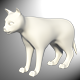 Low Poly Cat Model - 3DOcean Item for Sale