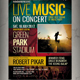 Live Music Event Flyer / Poster Vol.2 - GraphicRiver Item for Sale