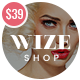 WooCommerce Multipurpose Responsive WordPress Theme - WizeStore Nulled