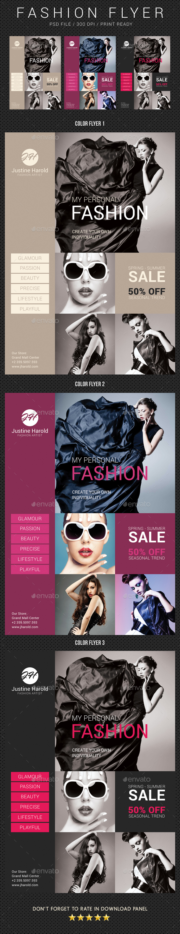 Fashion Flyer 06