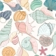 Seashell Seamless Pattern - GraphicRiver Item for Sale