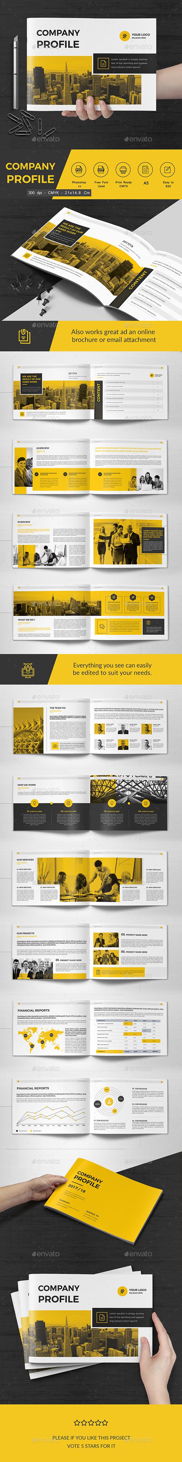 Co Landscape Brochure 22 Pages - Corporate Brochures