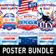 Independence Day Party Poster Bundle vol.2