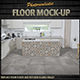 Photorealistic Floor Mock-Up Kitchen - GraphicRiver Item for Sale