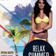 Relax Summer - PSD Flyer Template - GraphicRiver Item for Sale