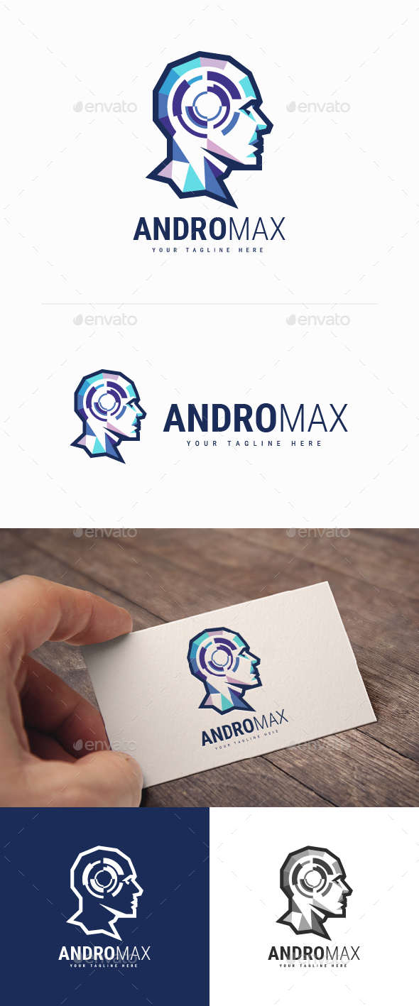 GraphicRiver Andromax Logo 20228127