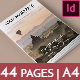 44 Page Elegant InDesign Magazine A4
