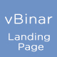 vBinar - Mobile App Landing Page - ThemeForest Item for Sale