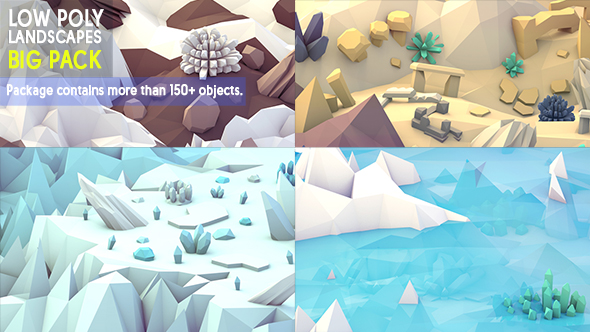 3DOcean Low Poly landscapes 20228591