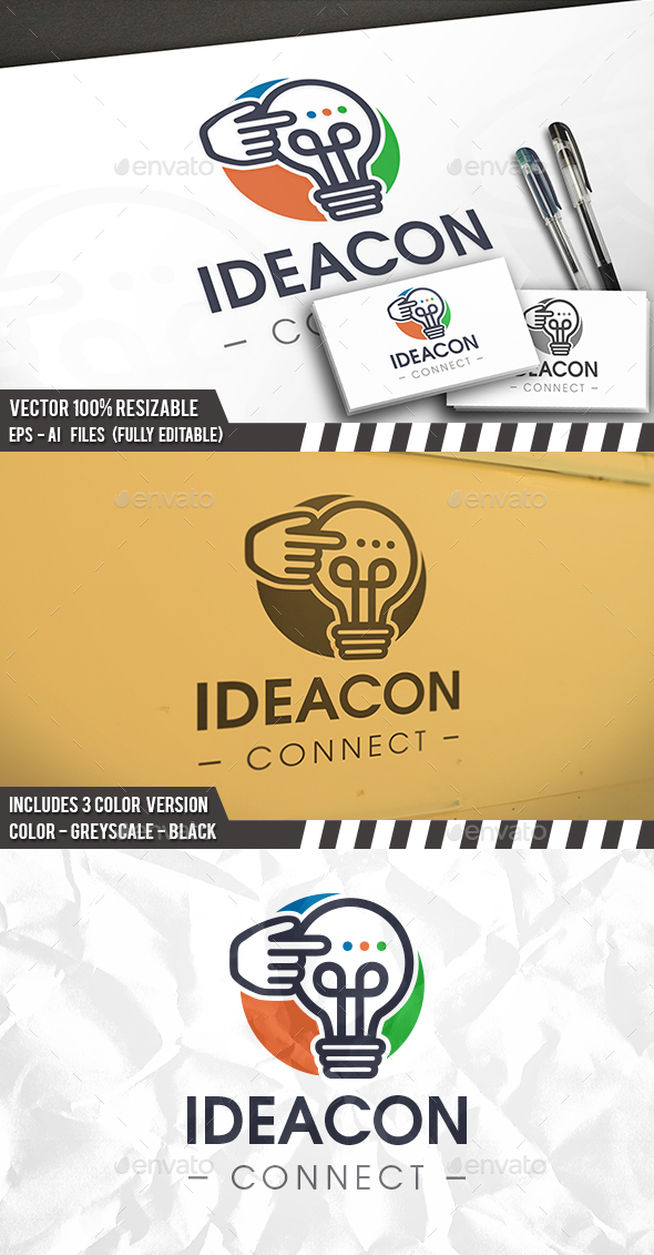 Online Idea Logo - Symbols Logo Templates