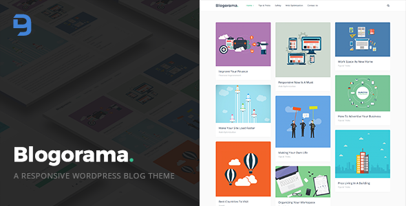 Download Blogorama - A Responsive WordPress Blog Theme