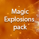 Magic explosions - VideoHive Item for Sale