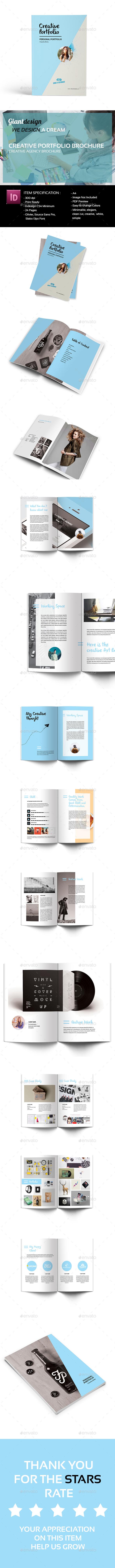 GraphicRiver Creative Portfolio Brochure 20229199