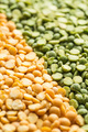 Yellow and green split peas. - PhotoDune Item for Sale
