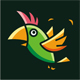 Parrot Logo - GraphicRiver Item for Sale