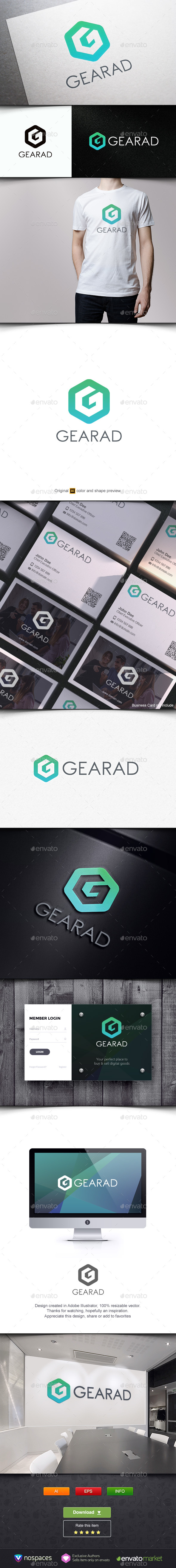 Gearad - Letters Logo Templates