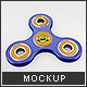 Fidget Spinner Mock-Up - GraphicRiver Item for Sale