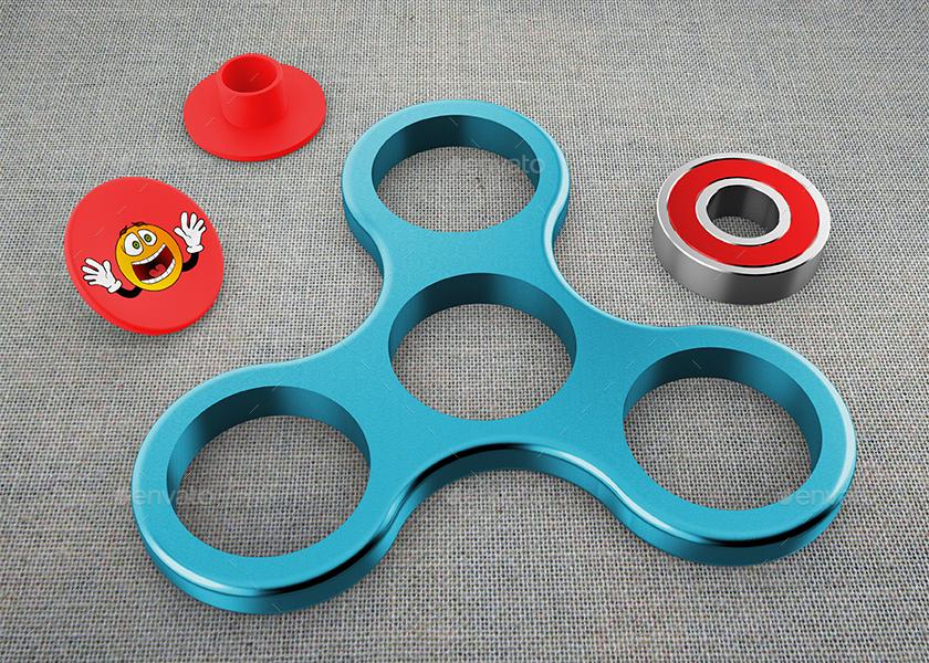 Fidget Spinner Mock-Up